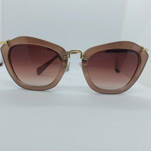 Brown and Gold Cat Eye sunglasses